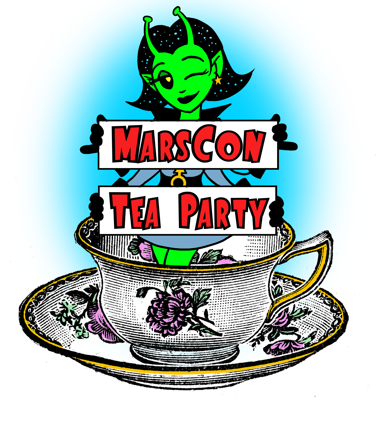 Tea-party-sign