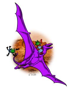 Mars 2017 DragonRiders color