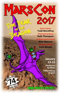 Mars 2017 poster