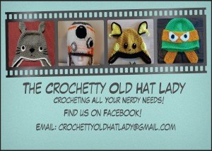 Crochetty Old Hat Lady - Ad Copy